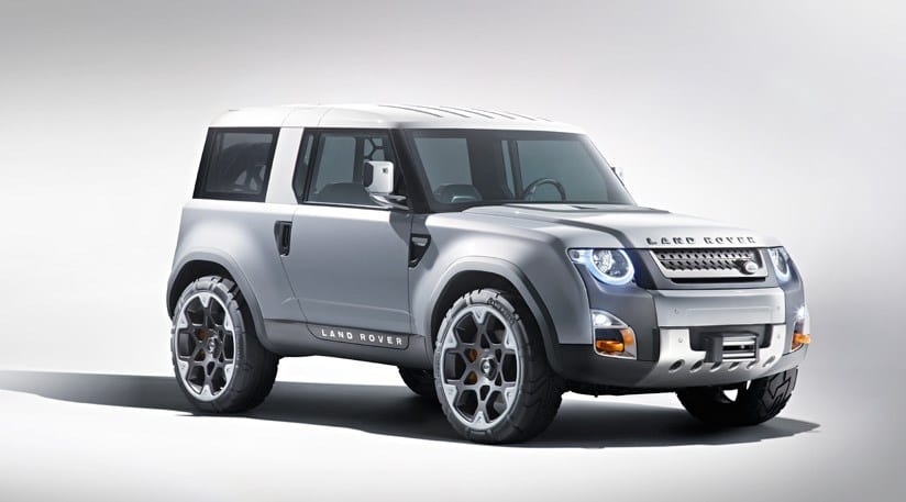 Land Rover DC100 concept met with critical failure