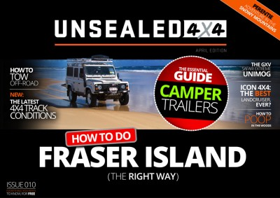 Unsealed 4X4 Magazine – Issue 010 Out Now!