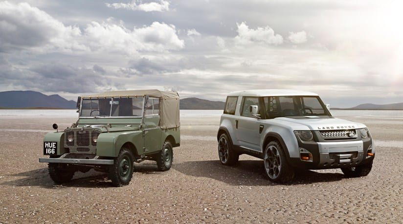 Land Rover Defender replacement info leak!