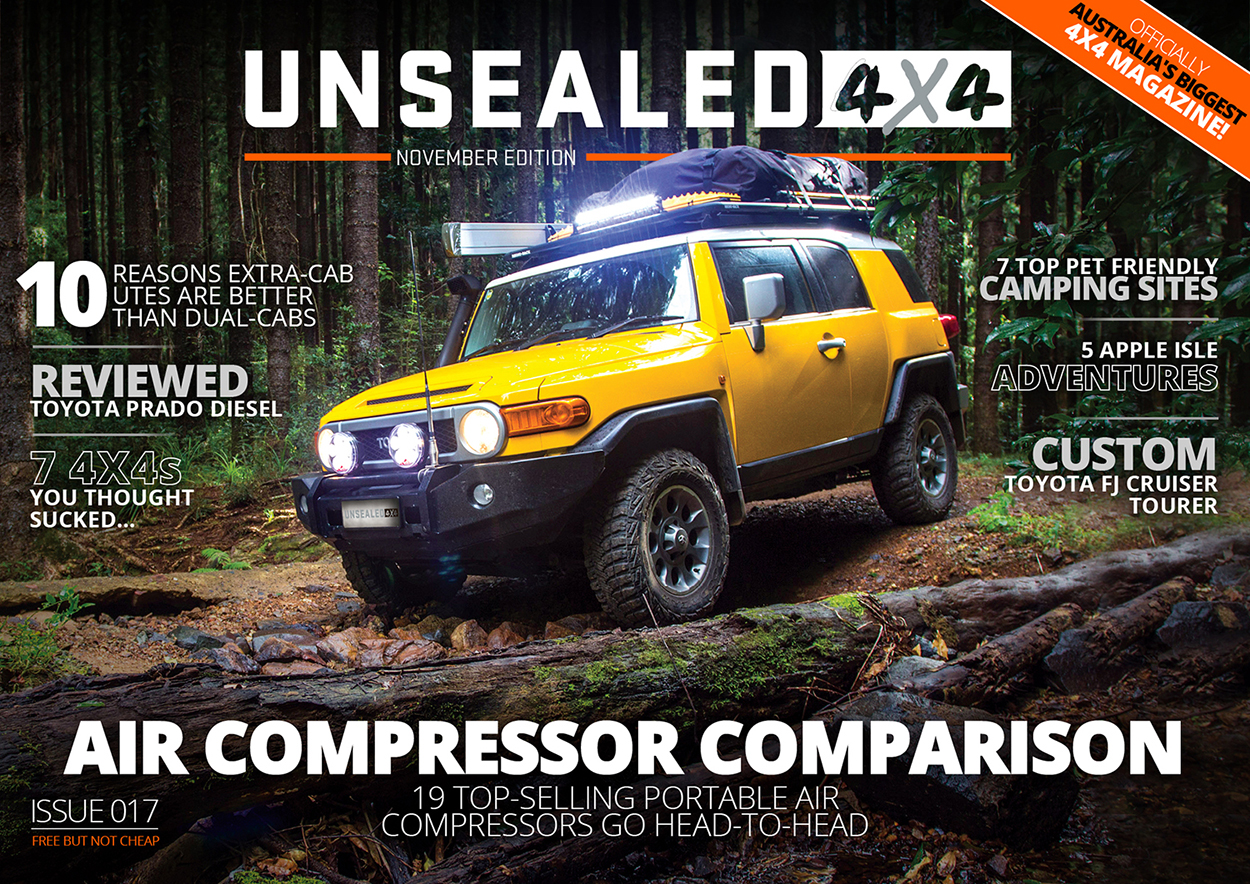 Unsealed 4X4 – Issue 017 Out Now.