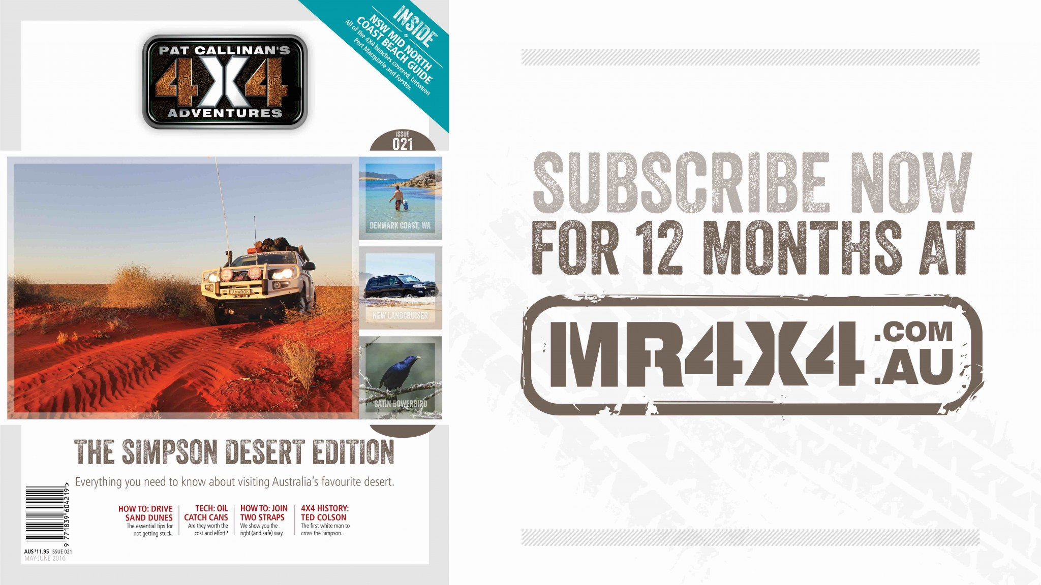 Issue 021, The Simpson Desert Edition: With free Map of Australia