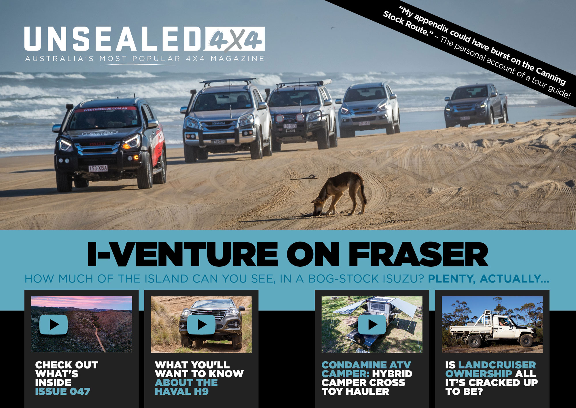 UNSEALED 4X4 ISSUE 47 – OUT NOW