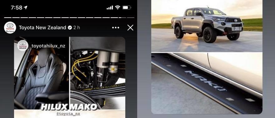 Toyota HiLux Mako released in NZ