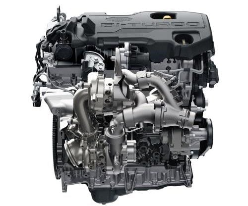 Two turbos and lots of technology allow this engine to get some astonishing figures from the 2-litre capacity.