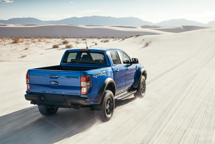The Ranger Raptor will sit alone, to start with, as a genuine performance ute.