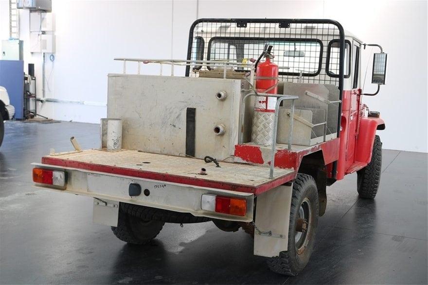 Toyota LandCruiser firefighter