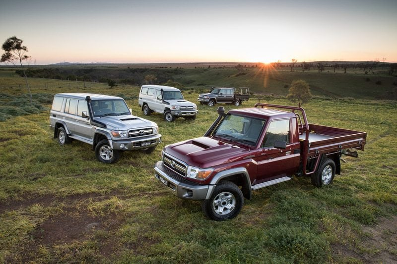 The updated Toyota 70 Series LandCruiser has more than significant input from Australia.