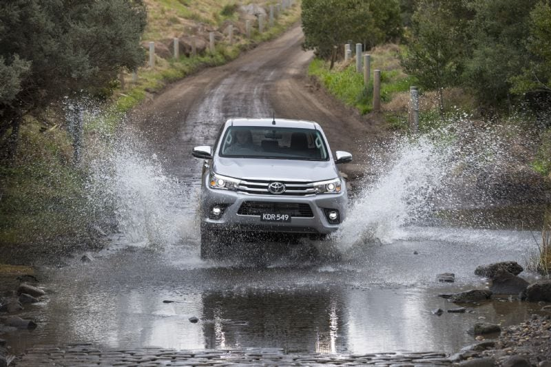 The Toyota HiLux is battling it out with the Ranger to be Australia's most favourite 4X4 in 2017