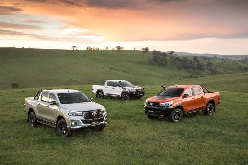 New 2018 Toyota HiLux range announced: Rugged, Rogue, Rugged X