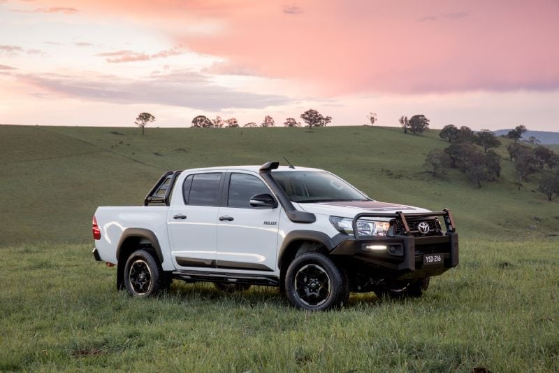 2018 Toyota HiLux Rugged, geared up with some 4WD accessories