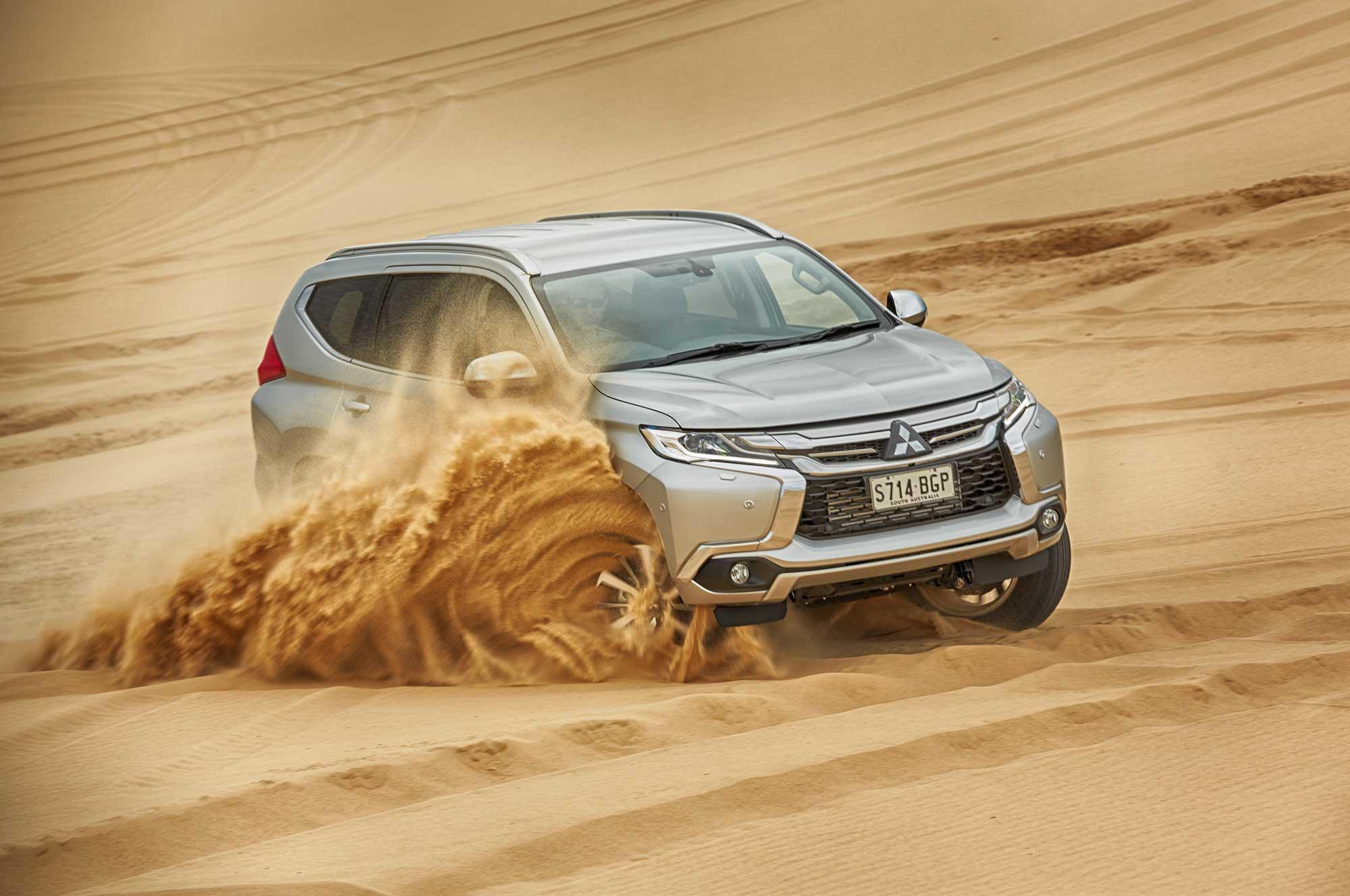 Vehicle News: The All-New Mitsubishi Pajero Sport