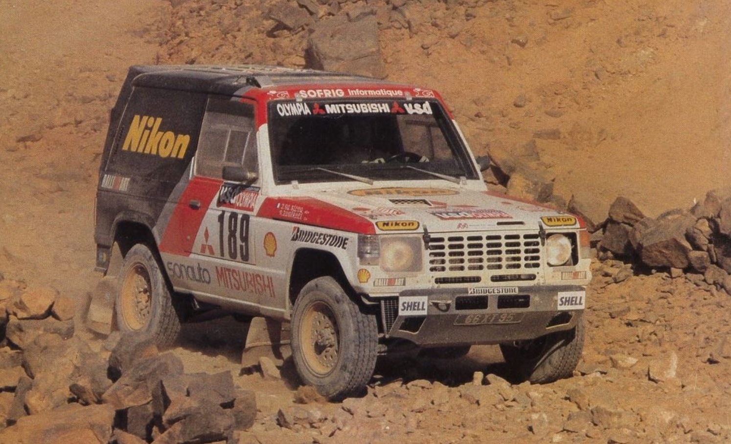 1985 Mitsubishi Pajero Evolution