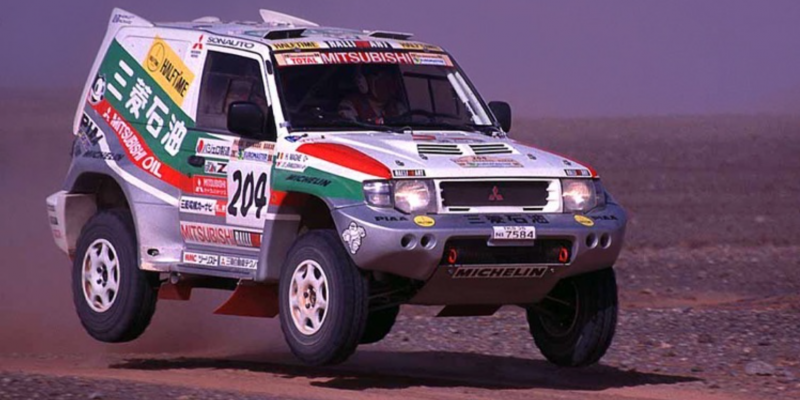 Remembering the Dakar Pajero