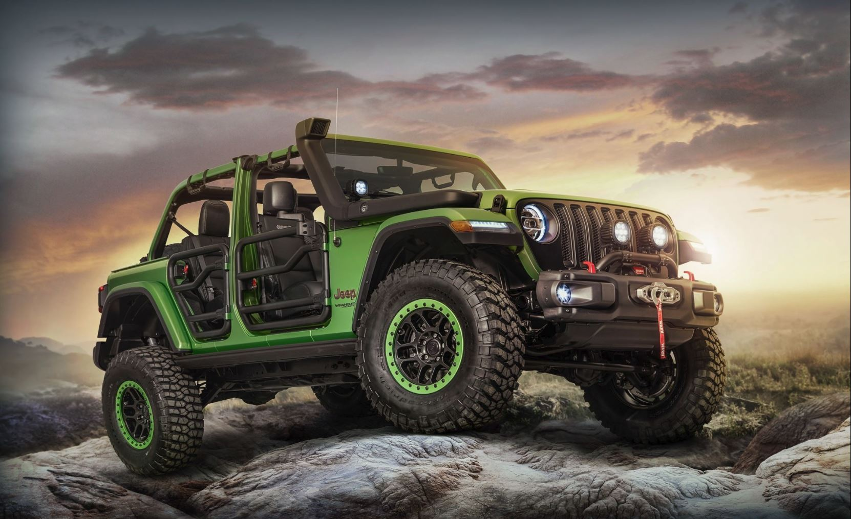 Mopar builds JL Wrangler, and it's awesome!