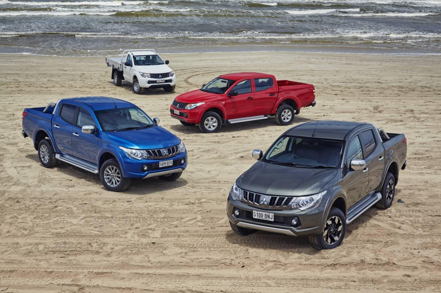 2017 Mitsubishi Triton updated