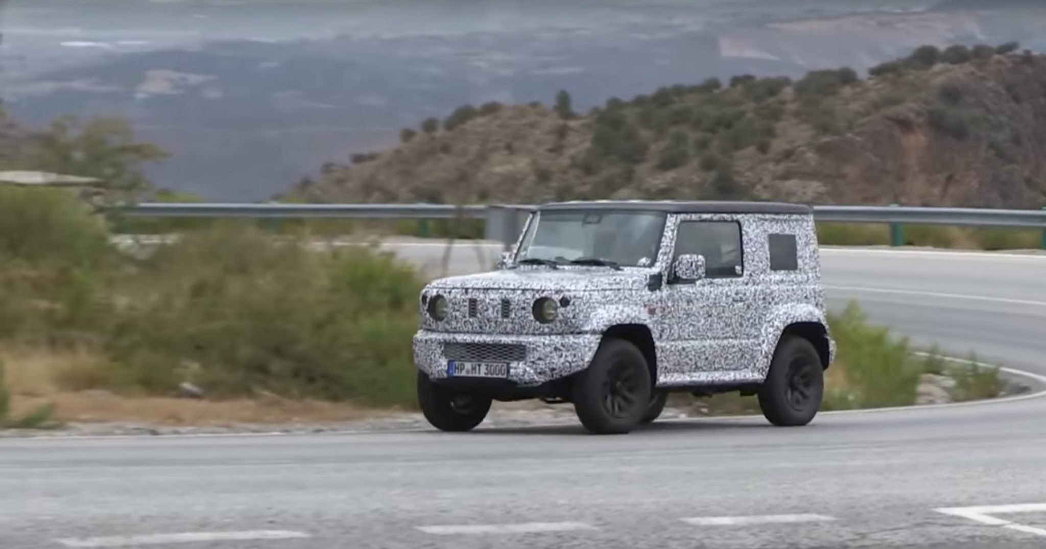 Watch a video of the 2019 Suzuki Jimny