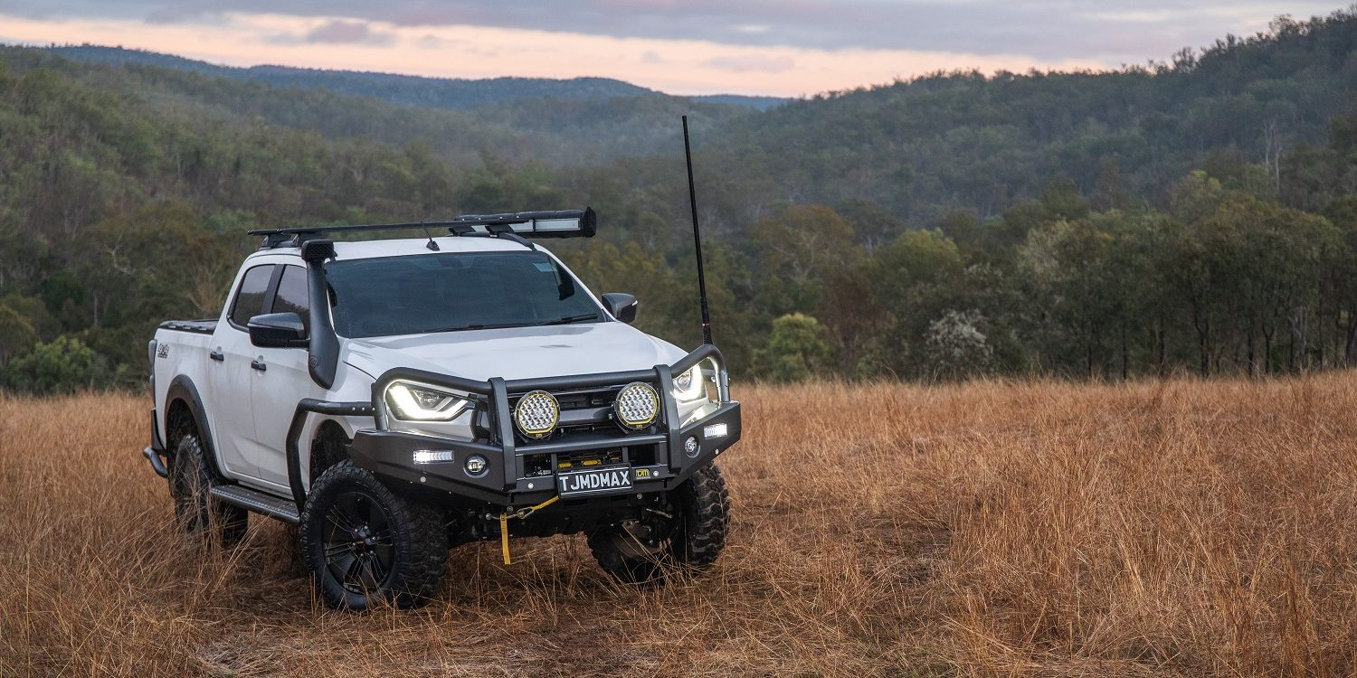 TJM ramps up accessories for new D-MAX