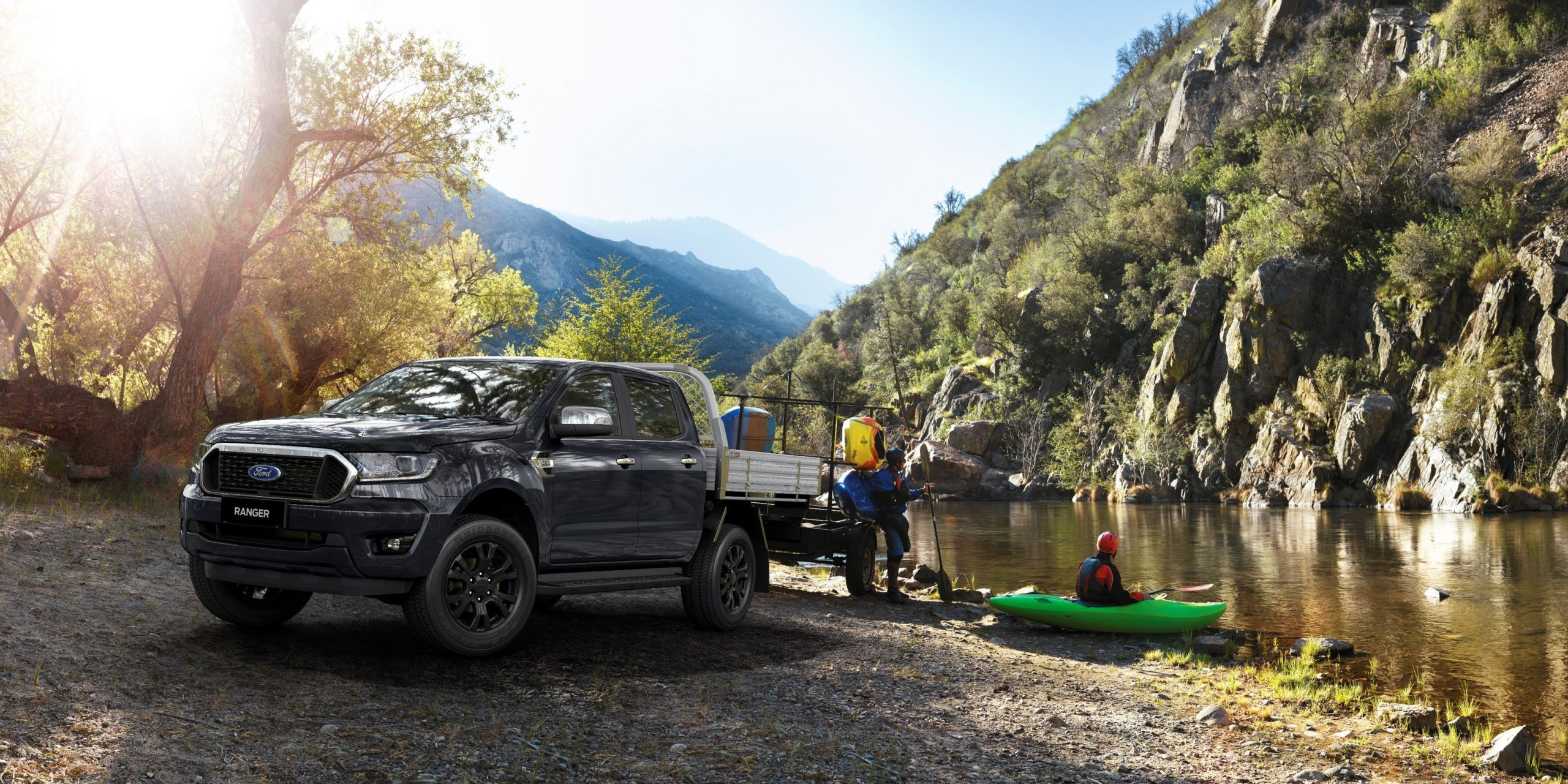 Ford Ranger XLT Double Cab now in Cab Chassis configuration