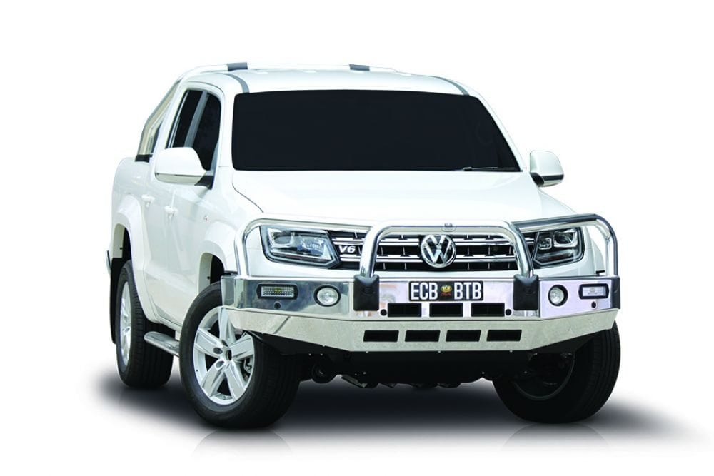 ECB release new frontal protection for Amarok V6 – Roo's quake in fear
