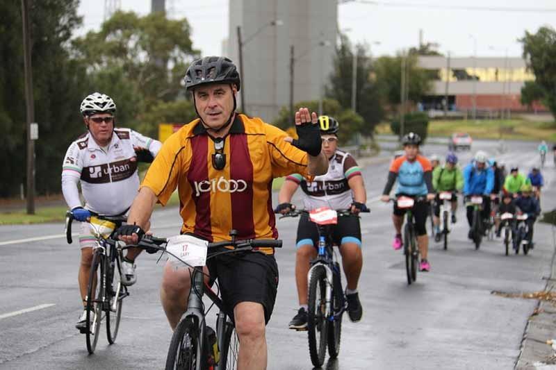 MS Australia Melbourne Cycle