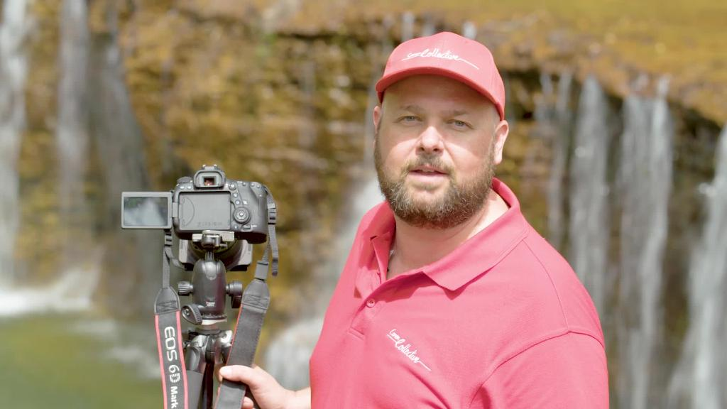 Learn about waterfall photography with Canon Collective.