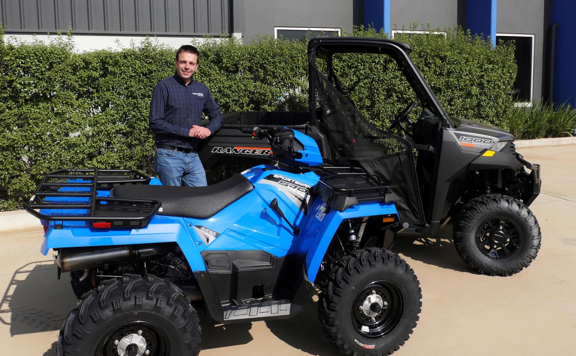 Polaris to quit ATV sales in Australia by October