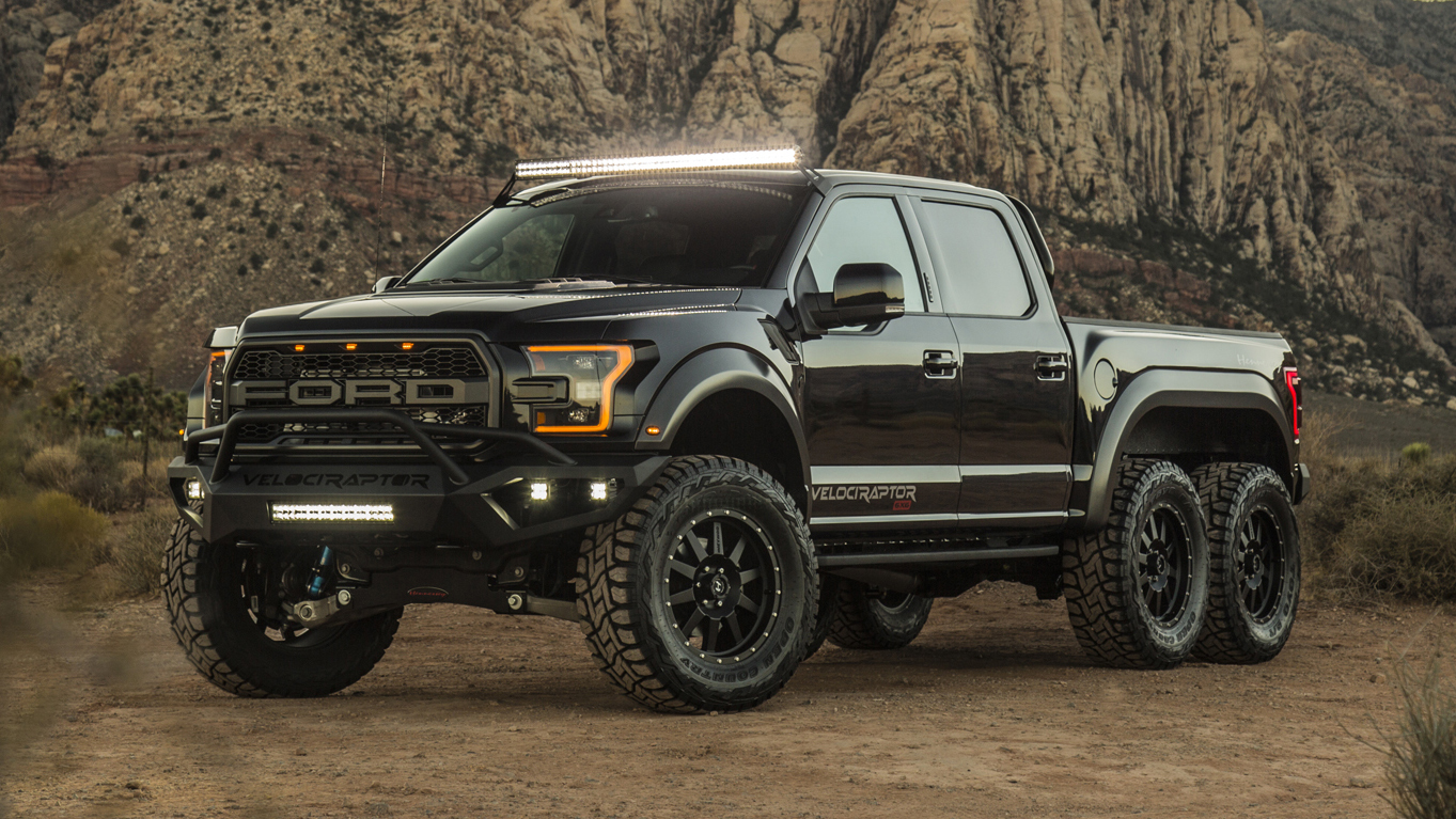 Hennessey VelociRaptor 6X6 released… and it's mental.