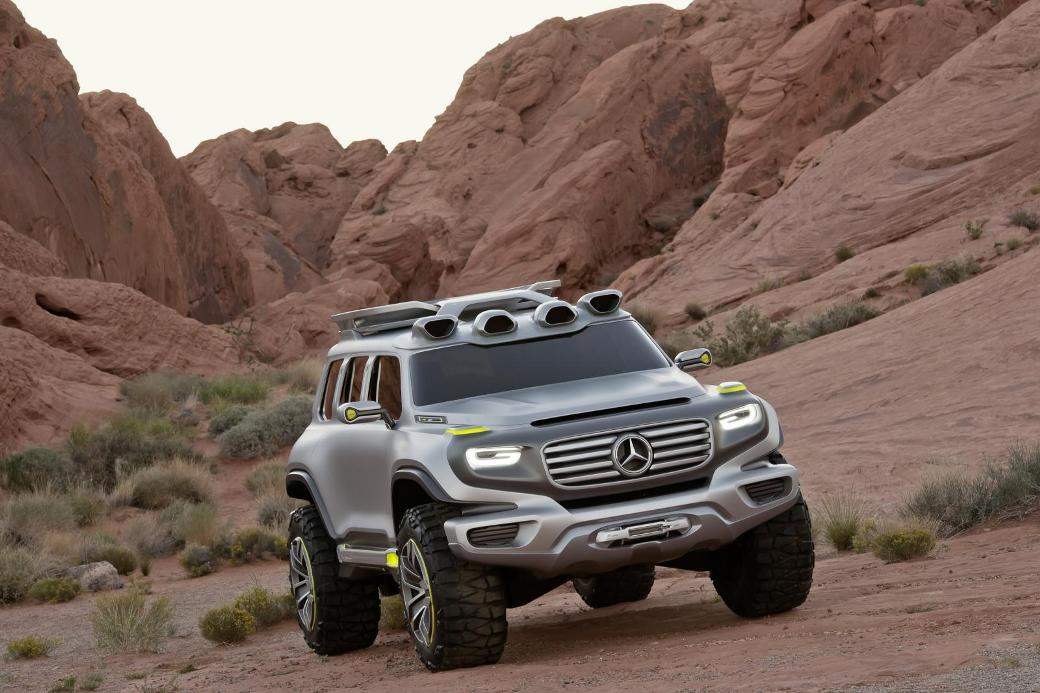 Mercedes new GLB-Class to be mini G-Wagon