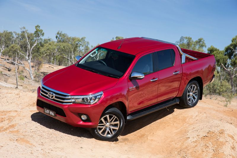 Toyota Hilux recall for auxiliary battery problem