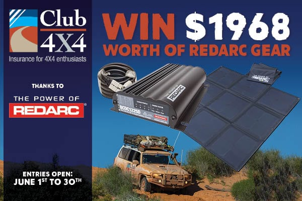 Win Redarc Solar Gear With Club 4X4 Insurance