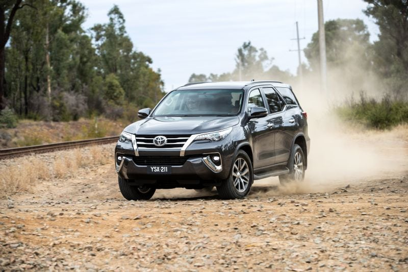 2018 Toyota Fortuner, now $5,000 cheaper