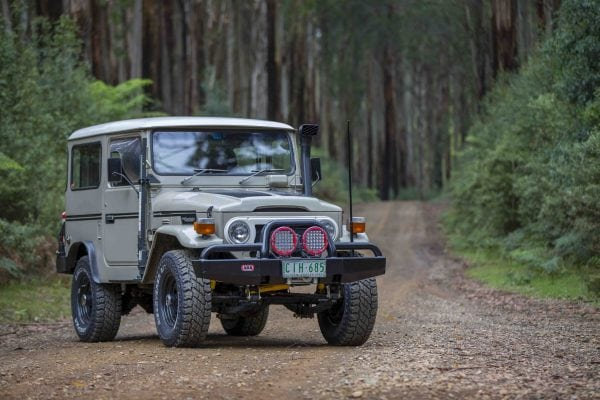 This Toyota LandCruiser FJ40 is a sight to behold.