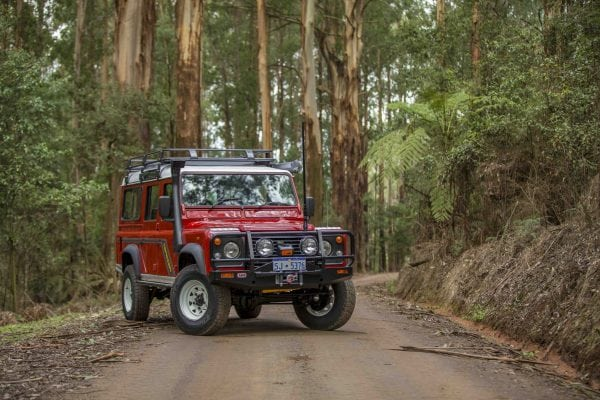 Land Rover Defender, by ARB