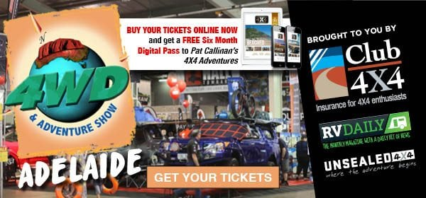 Adelaide 4WD & Adventure Show this weekend!