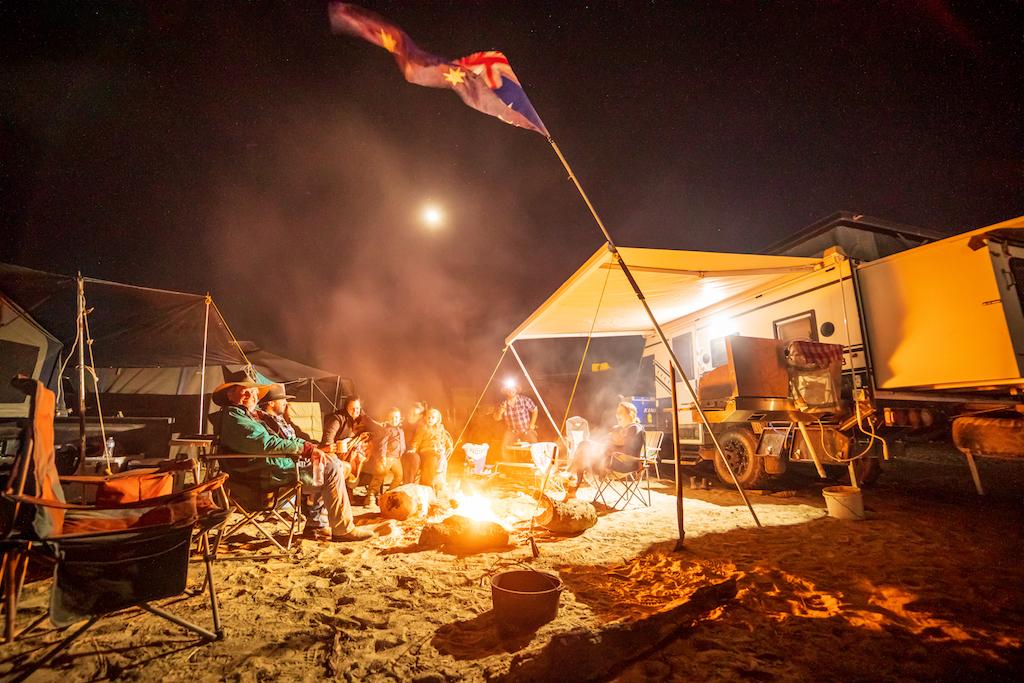 Big Red Bash Camping