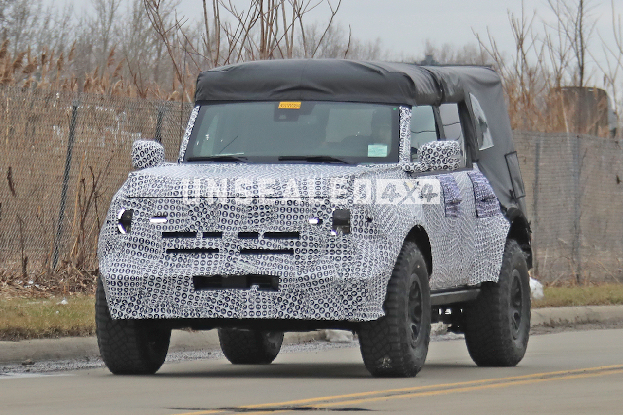 2021 Ford Bronco Spied. Again.