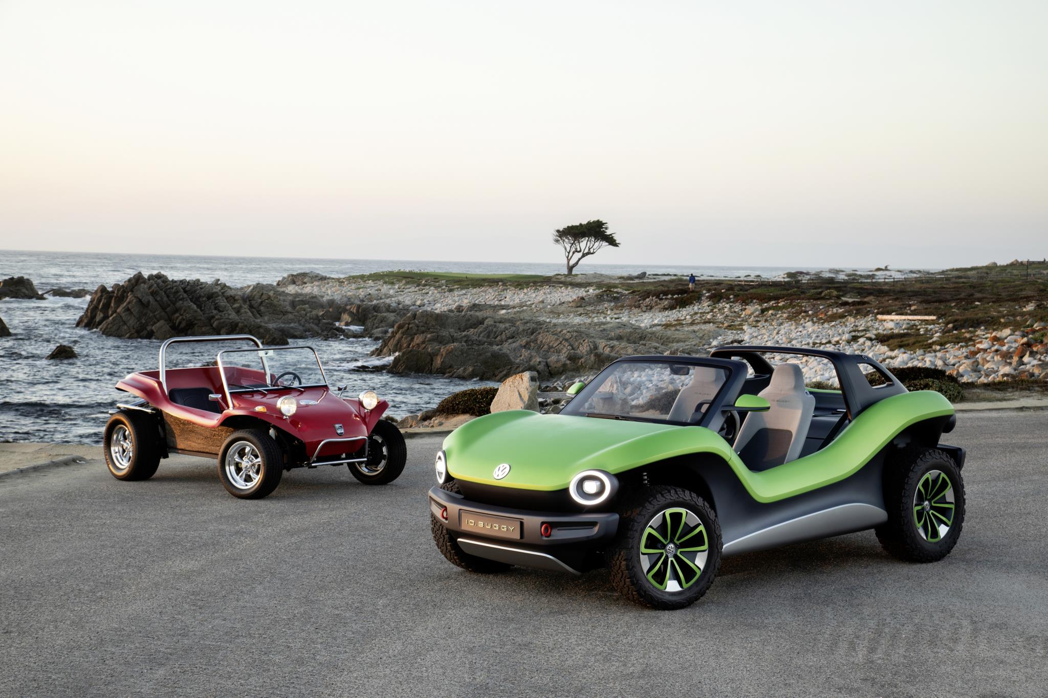Volkswagen ID. Buggy shown at Pebble Beach