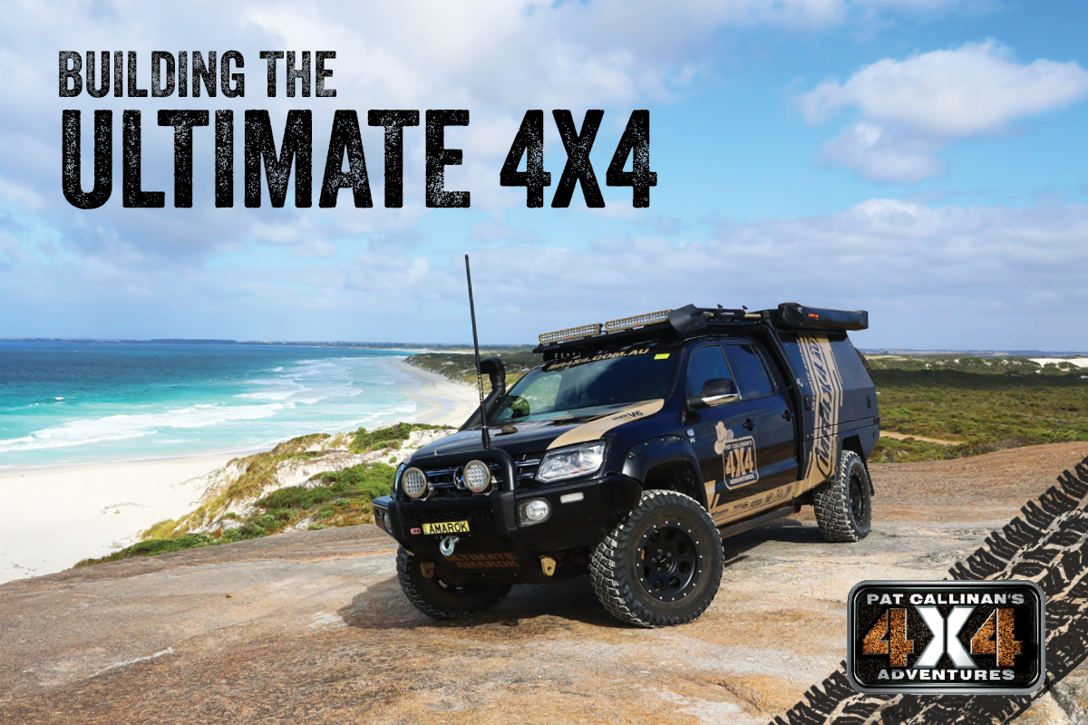Building the Ultimate 4X4 documentary airs this weekend!
