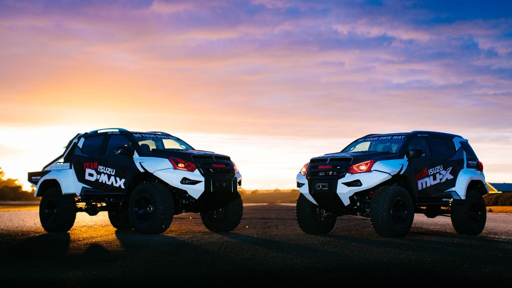Team Isuzu D-MAX: Concept X duo