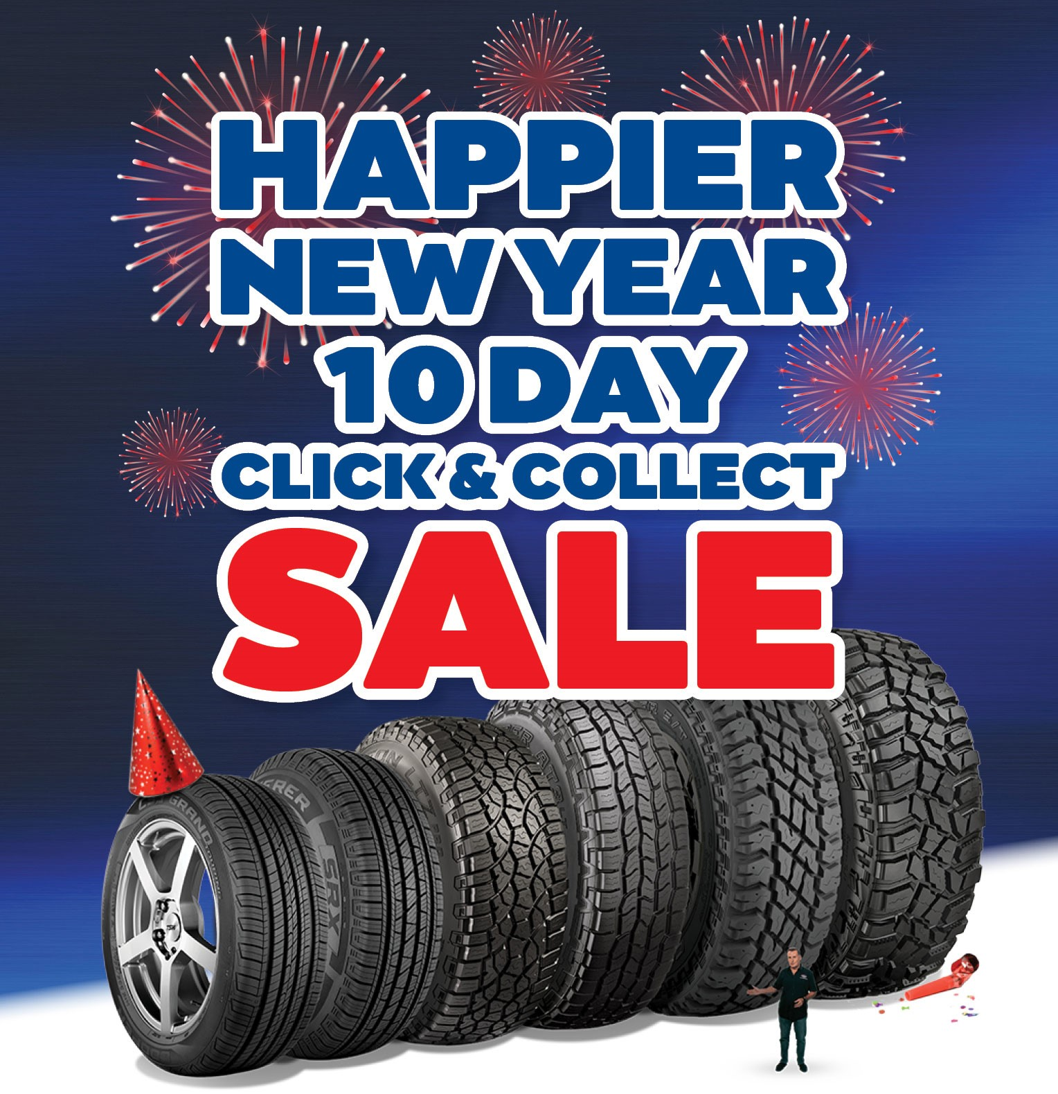 Didn't get what you wanted for Christmas? Cooper Tires have you covered