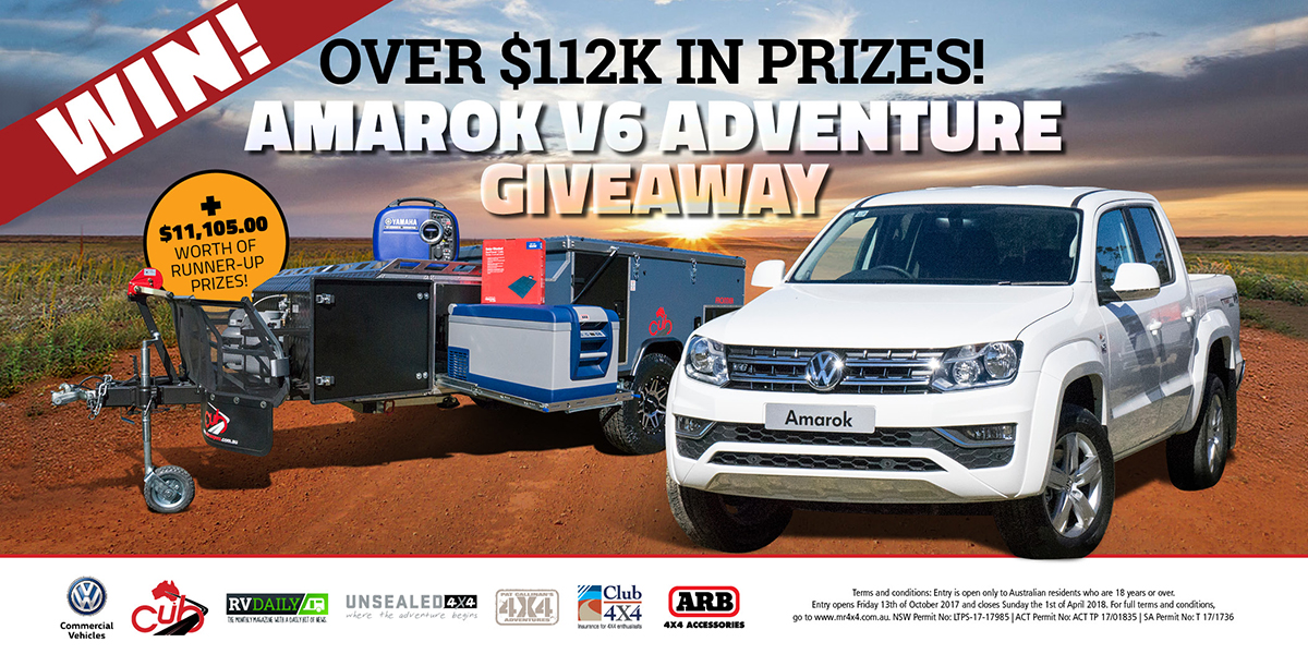 Amarok V6 Adventure $112k+ Giveaway – Terms and Conditions