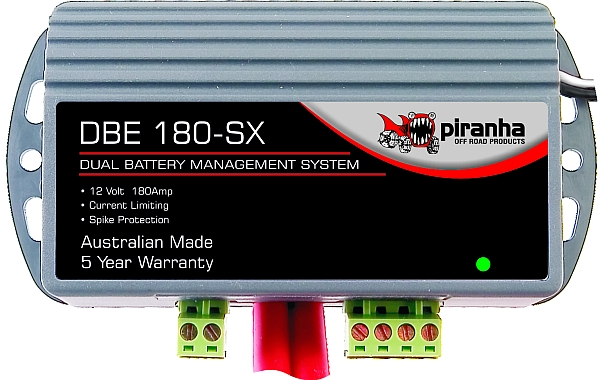 Gear News: Piranha DBE 180 SX