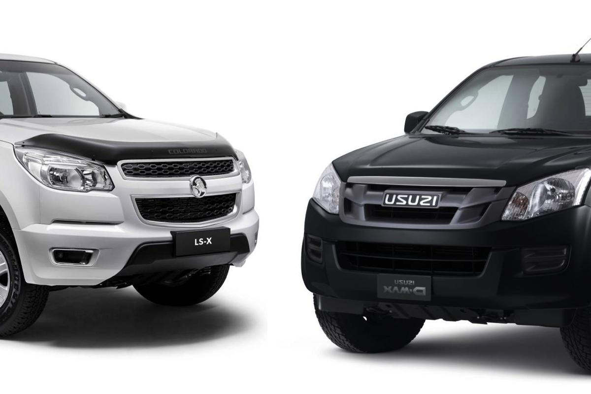 GM and Isuzu End Ute Alliance