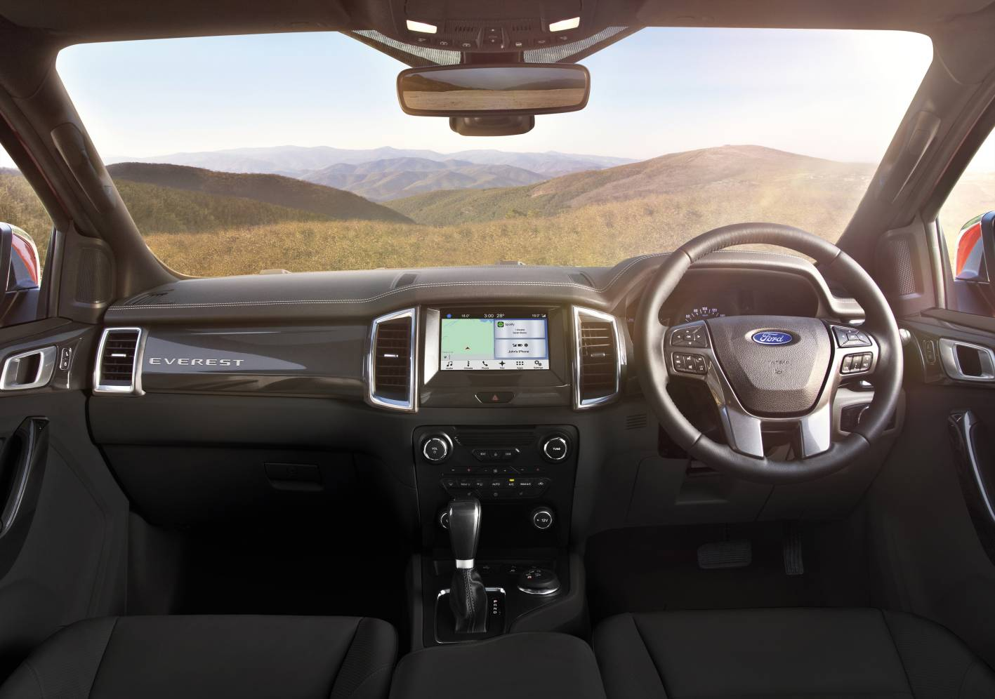 The 2016 Ford Ranger & Everest Sync-3 will now speak 'Strayan