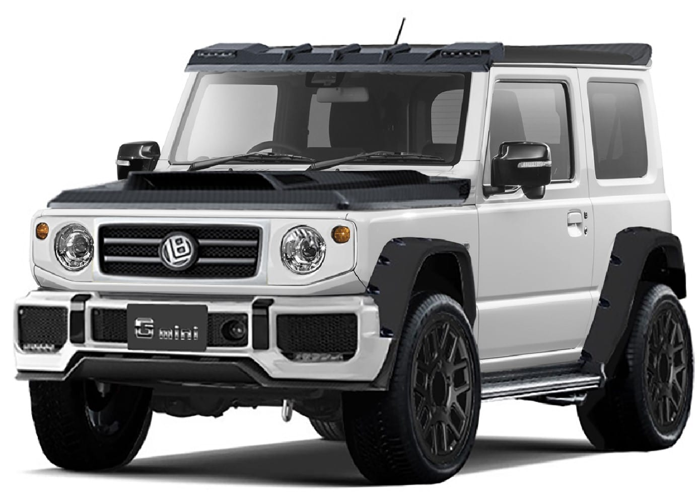 The Suzuki G-Wagon, sort of…