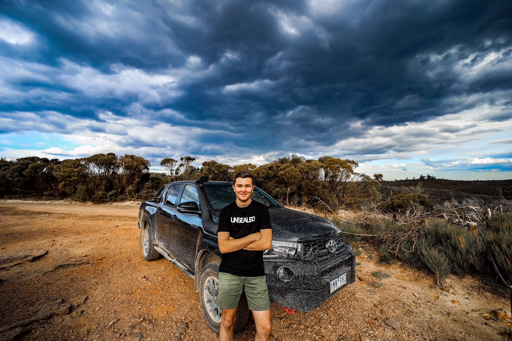 Exclusive Unsealed 4X4 and RV Daily shirts available at this weekends Sydney 4X4 Show!