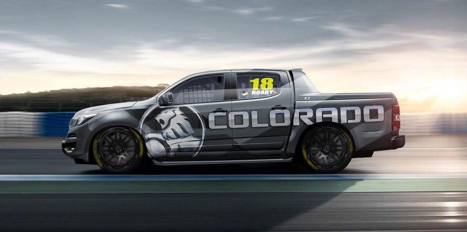 Holden shows off Colorado Superute