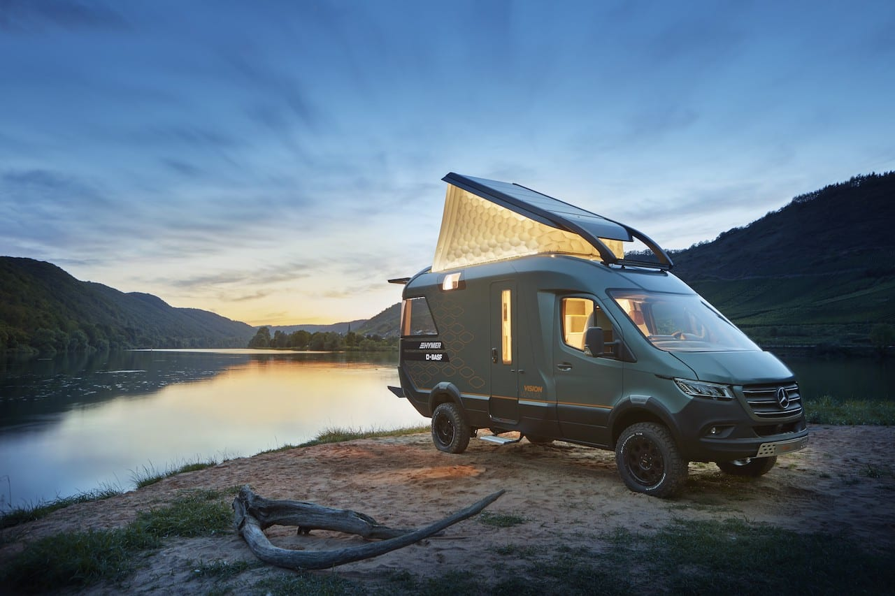 Hymer VisionVenture Concept revealed