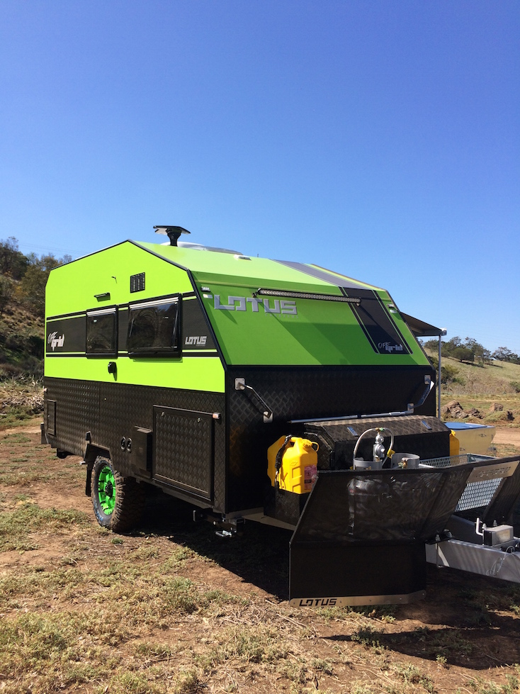 How to tow a camper trailer on sand