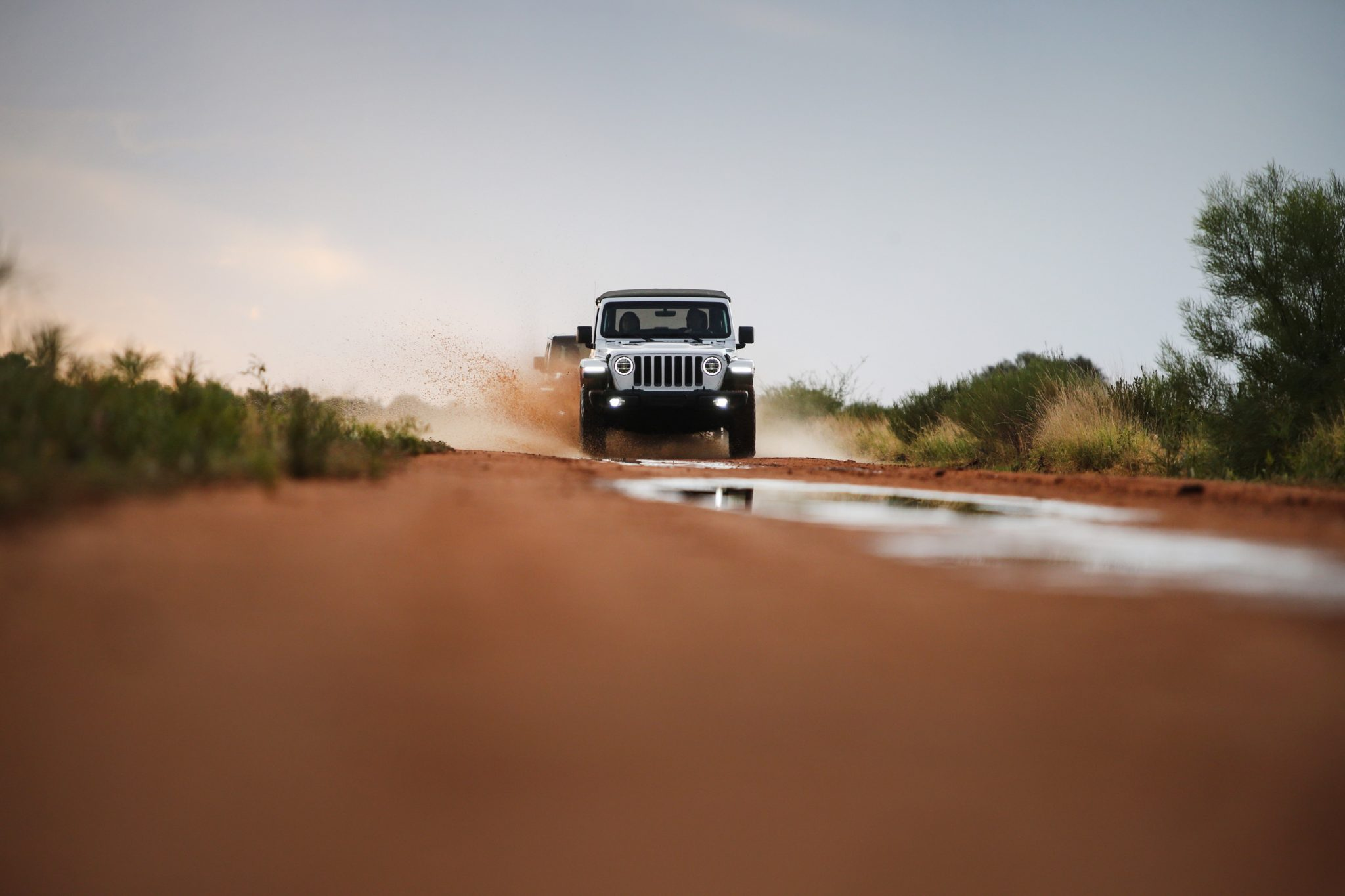 Outback testing in the 2018 Jeep JL Wrangler